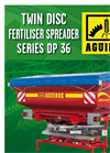 Aguirre - Model DP 36 - Double Disc Fertiliser Spreader for Precision Farming - Brochure