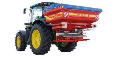 Aguirre - Model DP 36 - Double Disc Fertiliser Spreader for Precision Farming