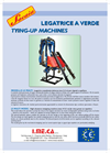 Model LSMulti - Wire Lifting (Tying-Up) Machine Brochure