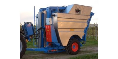 Towed Grape Harvester