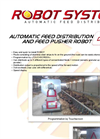Model DS-ROB - Automatic Feed Distribution and Feed Pusher Robot Brochure