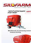 1 Vertical Auger Mixers Feeders KARTHALA With French DRIRE Approval - Brochure