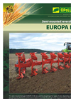 Europa - Model II 180 - Semi-Mounted Reversible Ploughs - Brochure