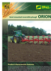 Orion - Model 180 - Semi-Mounted Reversible Ploughs - Brochure