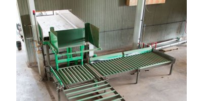 Automatic Lateral Crate Tipper