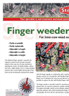 Finger Weeder Brochure