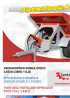 Model AB-60 & AB-80 - Twin Disc Fertilizer Spreader Brochure
