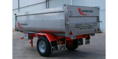 Model BS - 1 Bath Axle Semi Trailers