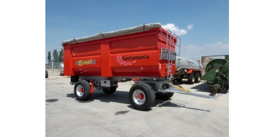 Model R-MAX - 2 Lift Axles Trailer