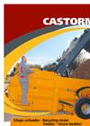 Castormix - Silage Unloader Recirculating Feeder & Straw Bedder - Brochure