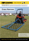 Mounted Grass Harrow Brochure