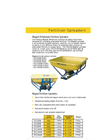 Model 335L (FS300) & 450L (FS500) - Single Disc Spreaders Brochure