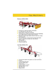 Fleming - Model G5.2TED - Hay Tedder Brochure
