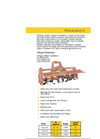 Fleming - Model TSST180 - Heavy Duty Rotavators Brochure