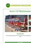 Kuhn 121 Multimaster Cultivation- Brochure