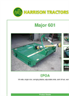 Major 601 Grass Machinery- Brochure
