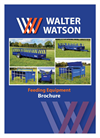 Sheep / Young Stock Feeding Trailer Brochure