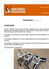 Yardmaster - Muck Scraper Brochure