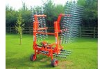 Grassmaster - Model 2m - Spring Tine Grass Harrow