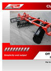 Off Set Disc Harrows Brochure