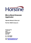 Microband - Chemical Applicators Brochure