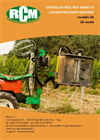 Model SA - Leaves Remover Machine Brochure