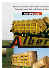 Alberti - Model AM 22 - Round Bale Loaders Brochure