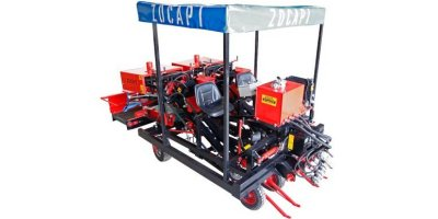 Zocapi - Model ZF2 - 2 Row Garlic Harvester Binder