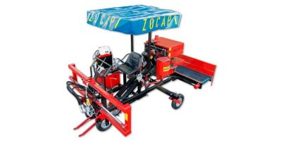 Zocapi - 1 Row Garlic Harvester Binder