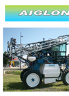 Aiglon - Model 80 - High Clearance Crops Tractor- Brochure