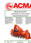 Model ALF - Rotary Tillers- Brochure