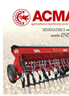 Model EN - 3 Row Mechanical Seed Drill- Brochure