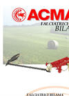 Model BN-BM - Double Movement Finger - Blade Mower Brochure