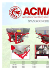 Model HIGHT - Twin Spinner Fertilizing Machines Brochure
