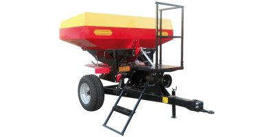 Model HIGHT - Twin Spinner Fertilizing Machines