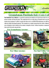 Groundsman - Flexblade Core Collector - Brochure