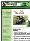 Groundsman - Model 345HD - Pedestrian Turf Aerator - Brochure