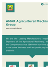 Amar Agricultural Machinery Group- Brochure