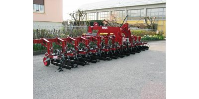 Model SH/SX/ MAIA - Biological Inter-Row Cultivators with Springs