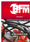 Model AB6 - In-Row Automatic Plow - Brochure