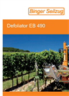 Model EB 490 - Single Sided Leaf Removers Brochure