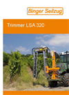 Model LSA 320 AU3V - Manual Height Adjustment Trimmer - Brochure