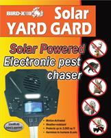 Bird-X - Solar Yard Gard Ultrasonic Repeller