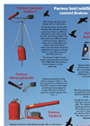 Purivox - Triplex V - Bird Scare Gas Gun Brochure