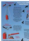 Purivox - Triplex V - Bird Scare Gas Gun Brochure