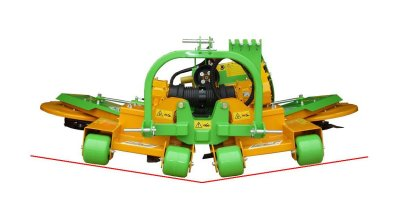 ARTICULATED - Model TPS  - Rotary Mower