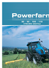 Powerfarm - Model 1104D series - Tractors Brochure