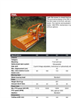 Votex - RML Series - In-Line Flail Mowers  Brochure