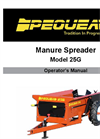 25GD - Compact Manure Spreaders Manual