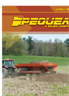 Pequea - Model SP Series - Litter/Poultry Spreaders Brochure